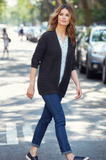 Stitch Interest Cardigan