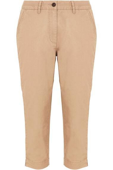 Chino Capri Trousers
