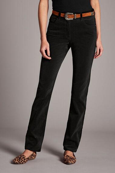 Corduroy Slim Leg Trousers