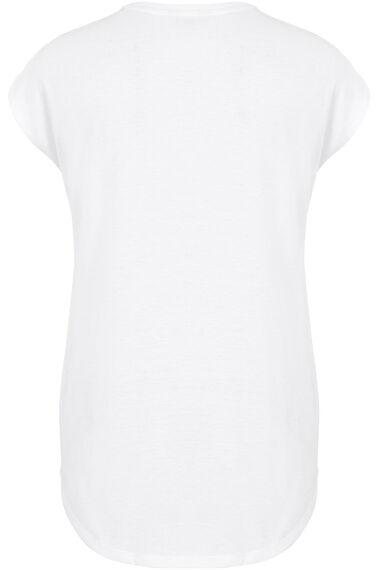 Floral Placement Print T-Shirt