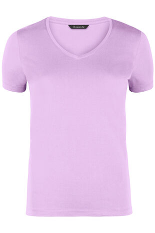 New Cotton V Neck T-Shirt