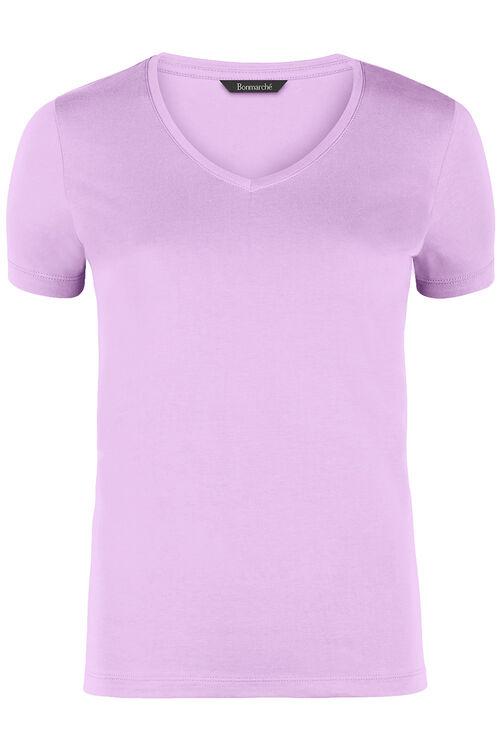 New Cotton V Neck T-Shirt