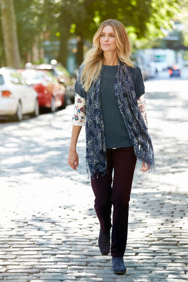 Persian Print Knit Top