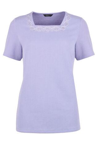 Diamante Spray Detail T-Shirt
