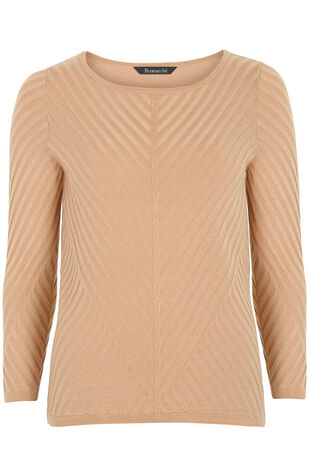 Chervon Stitch Detail Jumper
