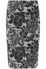 Soft Touch Floral Pencil Skirt