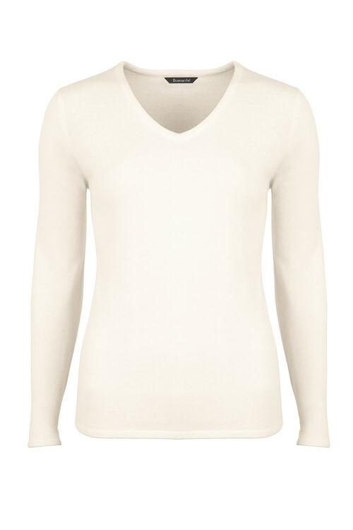 Super Soft V Neck Jumper