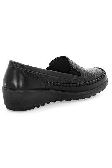 Cushion Walk Croc Effect Slip On Shoe