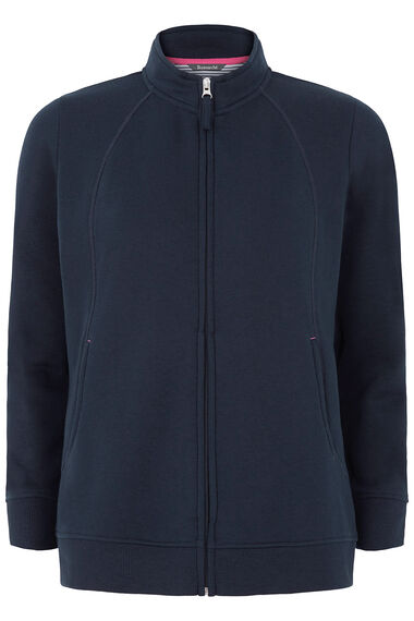 Funnel Neck Zip Thru Jacket
