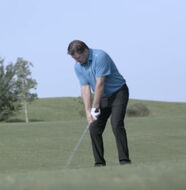 Nick Faldo shocked to hit the JPX900 Forged 6 iron 190 yards -Video