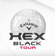 The new Callaway HEX Black Tour Golf Ball- Video