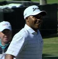 american golf News: Harold Varner III takes down Steph Curry in a swoop