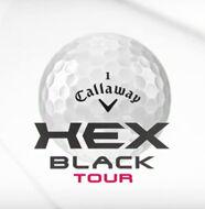 La nouvelle balle de golf HEX Black Tour de Callaway - Vidéo