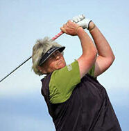 OnlineGolf News: Laura Davies tosses putter into lake after double bogey