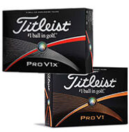 Review: Titleist V1 & V1x Golf Balls