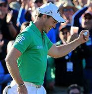 OnlineGolf News: Tiger Woods motivating Danny Willett in Dubai