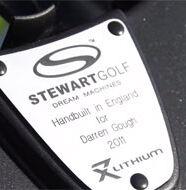 Darren Gough talks about his love of Stewart Golf trolleys - Video