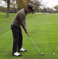 Luke Donald Mizuno Masterclass- Part 9/ Iron shaped to left sided pin - Video