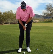 How to hit two Chips with one Club- Video