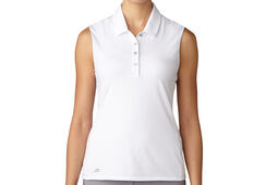 adidas Golf Essentials Cotton Hand Poloshirt Für Damen
