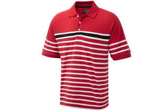 Cypress Point Striped Polo Shirt