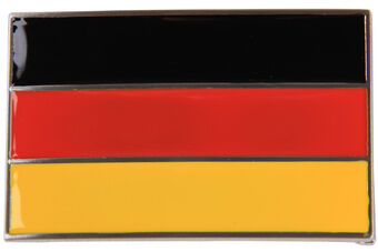 Druh Country Flag Buckle