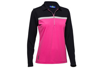 Daily Sports Leona Long Sleeve Ladies Polo Shirt