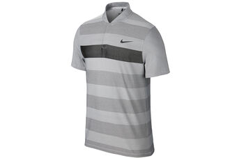Nike Golf MM Fly Knit Stripe Alpha Polo Shirt