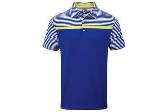 FootJoy Lisle Engineered Stripe Polo Shirt