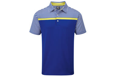 Polo FootJoy Lisle Engineered Stripe