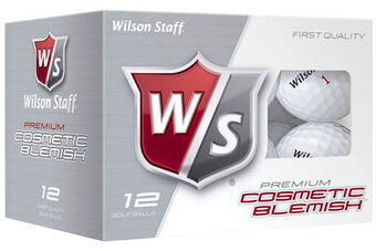 Wilson Staff DX2 Blemish 12 Ball Pack