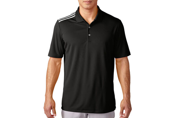 adidas Golf climacool 3-Stripe Polo Shirt