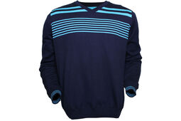 Palm Grove Lined Striped Sweater