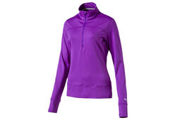 PUMA Golf 1/4 Zip Popover Sweatshirt für Damen