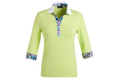 GOLFINO Ladies DryComfort 3/4 Sleeve Polo Shirt