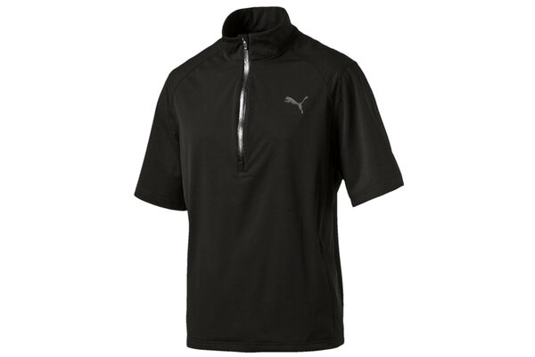 PUMA Golf Short Sleeve Rain Jacket