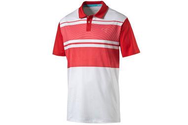 PUMA Golf Patternblock Poloshirt
