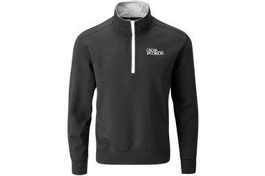 Oscar Jacobson Bradley Tour Half Zip Sweater