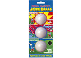 Prank Golfers Joke Balls 3 Ball Pack