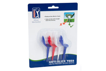 PGA Tour 4pk Anti Slice Tees