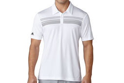 adidas Golf climacool Chest Print Polo Shirt