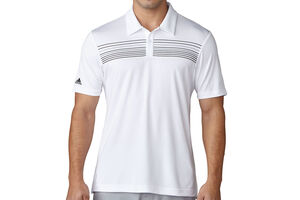 adidas Golf climacool Chest Print Polo Shirt