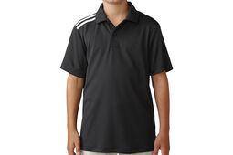 Polo adidas Golf climacool 3-Stripes Junior