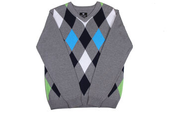 Palm Grove Diamonds Sweater