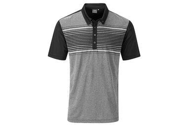 PING Jonas Heathered Polo Shirt