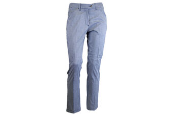 Palm Grove Check Crop Ladies Trousers