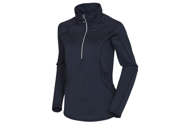 Sunice Ladies Sophie Half Zip Stretch Sweater