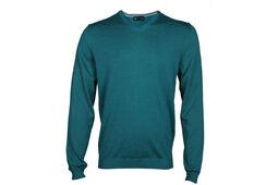 Palm Grove Plain V Neck Sweater