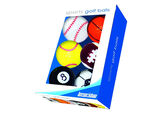 Longridge Sports Novelty Golf Balls