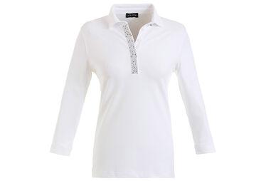 GOLFINO Ladies Sun Protection 3/4 Sleeve Polo Shirt